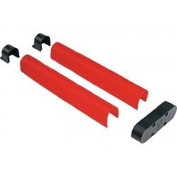 Conditionnement de caoutchouc de protection antichoc rouge CAME G0603