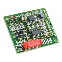 Carte décodage et gestion de contrôle des accès avec sélecteurs numériques CAME R800