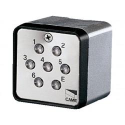 Clavier à code pour l'extérieur application apparente. 1 679 616 combinaisons CAME S7000