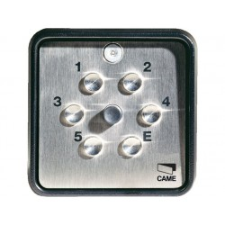 Clavier à code radio pour l'extérieur en 433,92MHz application apparente CAME S9000