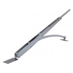 Bras adaptateur pour portes basculantes à contrepoids partiellement débordantes CAME V201