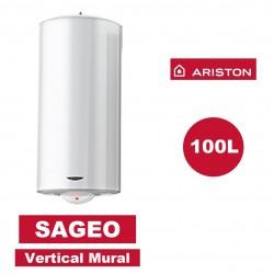chauffe eau lectrique vertical mural sag o 100 l 530 mm ariston 3000352 vita habitat. Black Bedroom Furniture Sets. Home Design Ideas