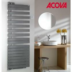 Sèche-serviette Soufflant ACOVA - REGATE Twist + Air électrique pivot à gauche 2000W (1000W+1000W) TXRL100-055IFS
