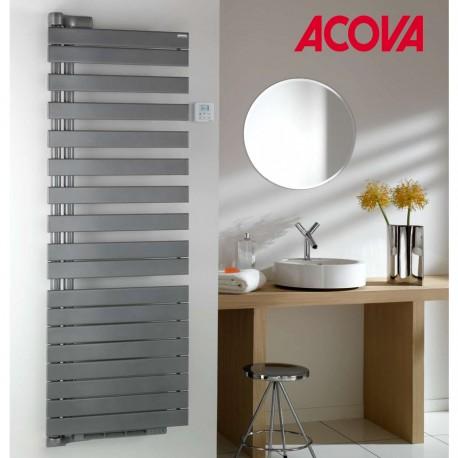 Sèche-serviette Soufflant ACOVA - REGATE Twist + Air électrique pivot à gauche 1750W (750W+1000W) TXRL075-055IFS