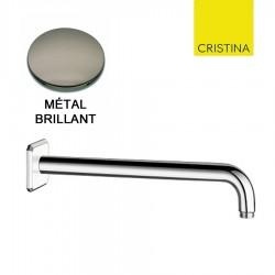 BRAS LAITON 30 CM ITALY METAL BRILLANT - CRISTINA ONDYNA PD56080