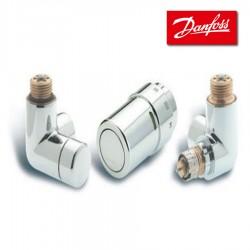 Kit X-TRA gauche pour radiateurs ou décors- CHROME - DANFOSS - 013G4004