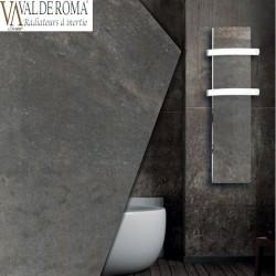Sèche-serviette rayonnant SLIM 2.0 Terre Lunaire 500W - Valderoma 16500TL