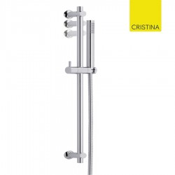 BARRE DE DOUCHE EXECUTIVE CHROME  - CRISTINA ONDYNA EV67851