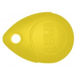 Cle de proximite 13.56 jaune - URMET MEMOPROX/J