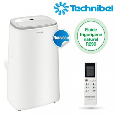 Climatiseur mobile monobloc IRO 3.5kW REVERSIBLE - Technibel IRO13PLUS