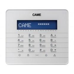 PXKTB01 Clavier LCD, avec touches à effleurement et afficheur graphique. Blanc. CAME 846CA-0040