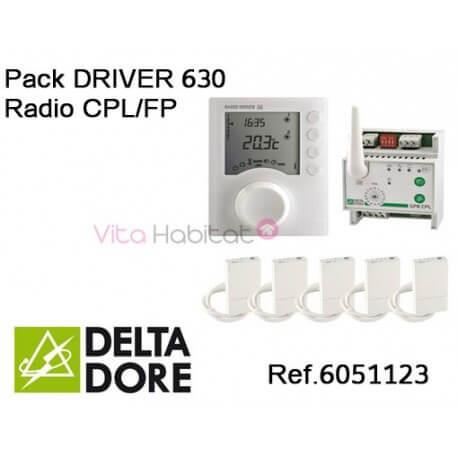 Pack DRIVER 630 Radio CPL/FP  - DELTA DORE - 6051123