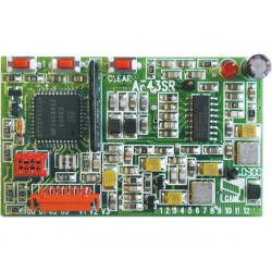 Carte radio fréquence embrochable en 433,92 MHz CAME AF43TW