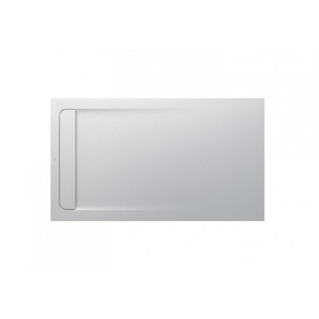 aquos receveur stonex 160x90 blanc casse roca. Black Bedroom Furniture Sets. Home Design Ideas