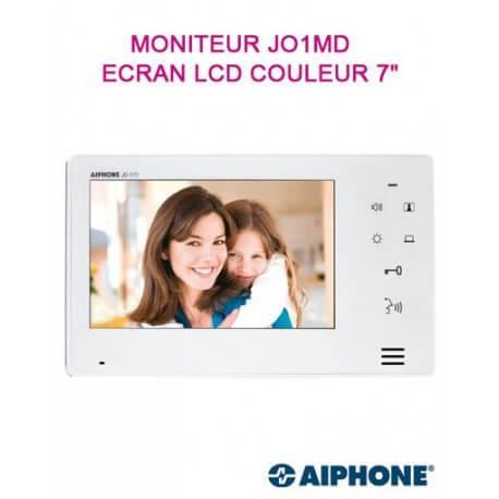 """Moniteur maître JO1MD pour portier vidéo AIPHONE - Ecran 7"""" - 302948"""
