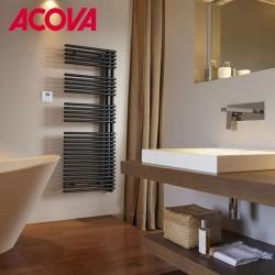 Sèche-serviette ACOVA - CALA Asymétrique à Droite - électrique 500W TLNR-050-50/GF