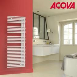 Sèche-serviette ACOVA - CALA Asymétrique à Droite - eau chaude 672W LNR-145-050