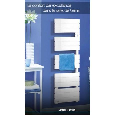 Sèche-serviettes électrique Applimo DOUCEA 350W - Blanc - 0016131BB