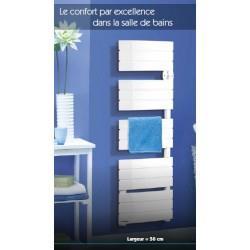 Sèche-serviettes électrique Applimo DOUCEA 650W - Blanc - 0016132BB
