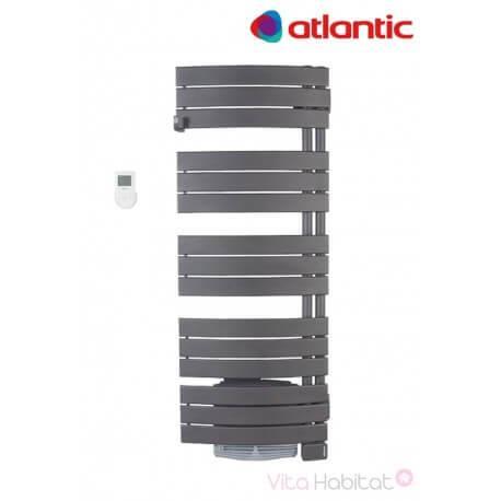 Seche-serviettes Atlantic NEFERTITI intégral VENTILO Gris - electrique avec soufflerie - pivotant droite
