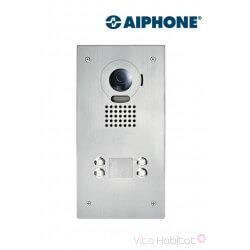 Platine de rue JO4DVF pour portier vidéo AIPHONE - encastrée - 130406
