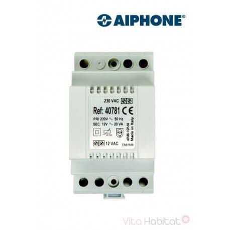 Alimentation 40781 - 230 Vac / 12 Vac - 1.5 A pour kit vidéo AIPHONE - 100086