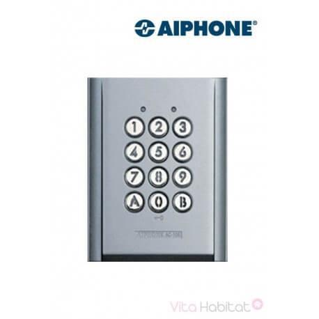 Clavier saillie AC10S 100 codes & 2 relais pour kit vidéo AIPHONE - 120150