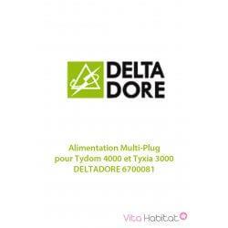 Alimentation Multi-Plug pour Tydom 4000 et Tyxia 3000 - DELTADORE 6700081