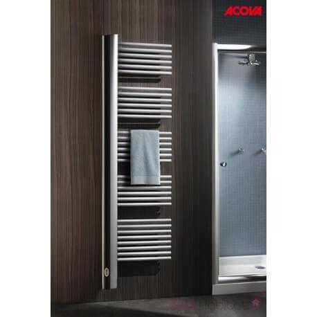 Sèche-serviette ACOVA - CLIPPER électrique 900W - voile vertical à droite - TUCR-090-050-IF