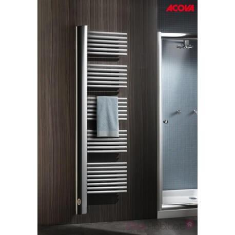 Sèche-serviette ACOVA - CLIPPER électrique 900W - voile vertical à gauche - TUCL-090-050-IF