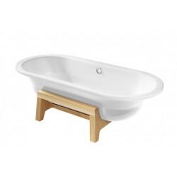ROCA Art Plus Baign 180X80 Exterieur Blanc A/Fad Blanc - A22255F007