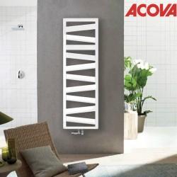 Sèche-serviette ACOVA KAZEANE eau chaude 398 W - KZ-100-050