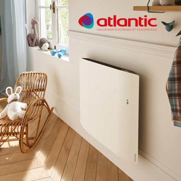 radiateur lectrique atlantic divali horizontal pilotage. Black Bedroom Furniture Sets. Home Design Ideas