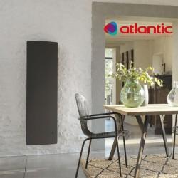 Radiateur électrique Atlantic DIVALI Vertical 1500W Pilotage Intelligent Connecté Lumineux GRIS - 507629