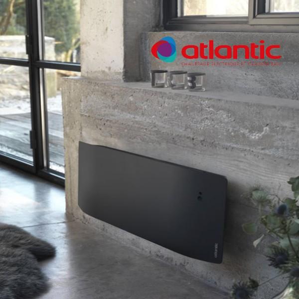 radiateur lectrique atlantic divali plinthe 750w pilotage. Black Bedroom Furniture Sets. Home Design Ideas