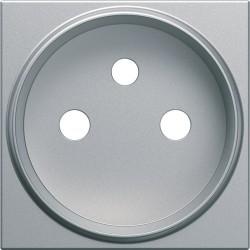 Enjo PC renovation titane - APPAREILLAGE MURAL GALLERY HAGER WXD105T