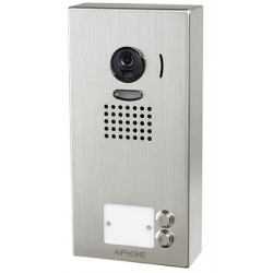 Platine de rue JO2DV 2 touches pour portier vidéo AIPHONE - en saillie - 130408