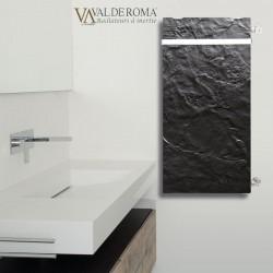 Radiateur chauffage central H2O DK33 Vertical Ardoise Noire 1709W VALDEROMA 02210033