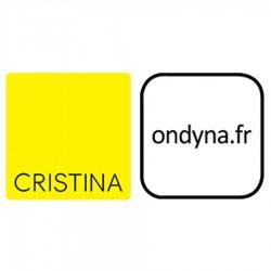 GRILLE POUR DOUCHETTE CHAMBORD PARIGI GRIS CLAIR - CRISTINA ONDYNA CF16100Q00