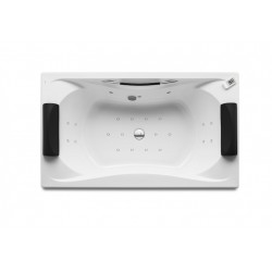 ROCA Becool Bi Hm Total 1900X1100 +Poignée Et App-Tte Blanc - A248052001