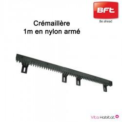 Crémaillère 1 mètre en nylon armé  BFT – D221073