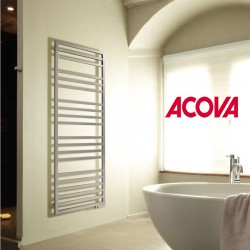 Sèche-serviette eau chaude ACOVA KADRANE SPA Inox 330W - KARI-130-045
