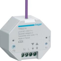 1 Sortie VR à enc. radioQL - TEBIS  HAGER TRB221A