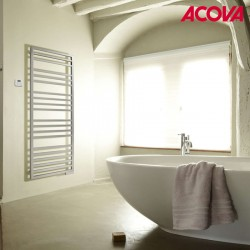 Sèche-serviette ACOVA - KADRANE SPA Mixte CHROME 443W / 300W - AKARO-150-055/GF