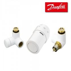 Kit X-TRA droit pour radiateurs ou décors- BLANC - DANFOSS - 013G4007