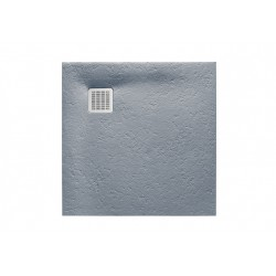 Receveur de douche Terran carre 800X800 en STONEX Gris Ciment - ROCA AP10332032001300