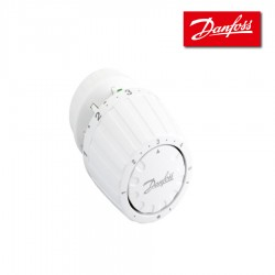 Tête thermostatique blanche technologie gaz - bulbe incorporé RA2990  - DANFOSS - 013G2990