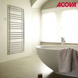 Sèche-serviette ACOVA - KADRANE SPA électrique Inox 300W - TKARI-130-055/GF
