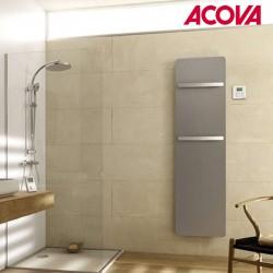 Sèche-serviette ACOVA - PLUME électrique Aluminium Anodisé 350W TGPA-160-040/GF