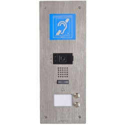 Platine vidéo encastrée 2BP IP B.MAGNET. Accessoire interphonie tertiaire - Aiphone 200921